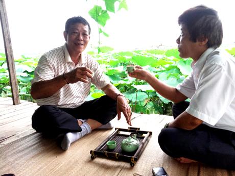 Thưởng thức trà xanh Tân Cương Thái Nguyên Ngon