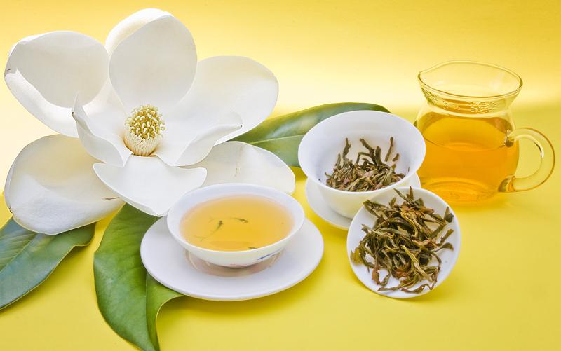Trà ướp hương hoa lài, loại trà hương được dùng phổ biến