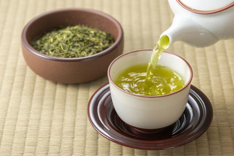 Trà Tân Cương Thái Nguyên với màu nước xanh vàng đặc trưng, thơm hương cốm non, vị ngậy, hậu ngọt rất sâu