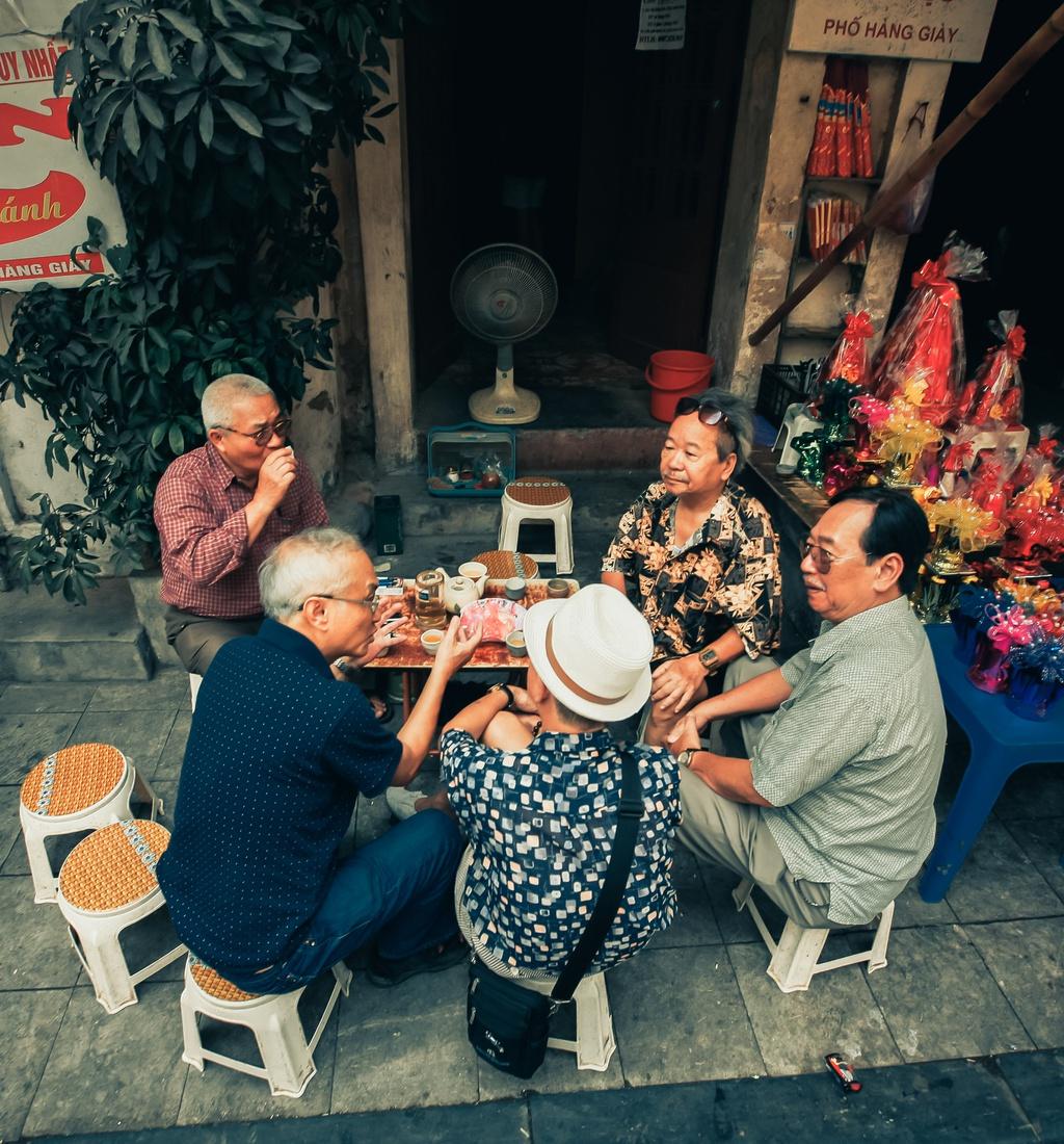 Văn hóa uống trà của người dân
