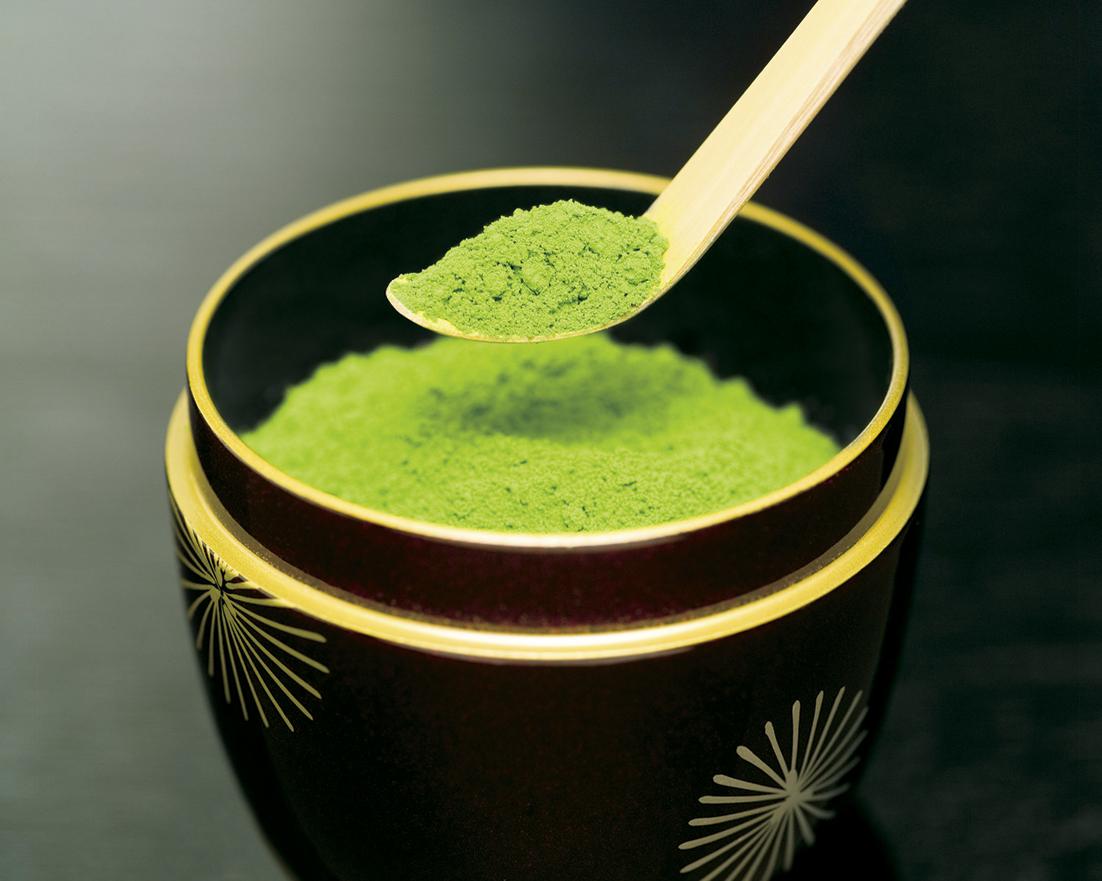 phân biệt bột trà xanh thật và giả