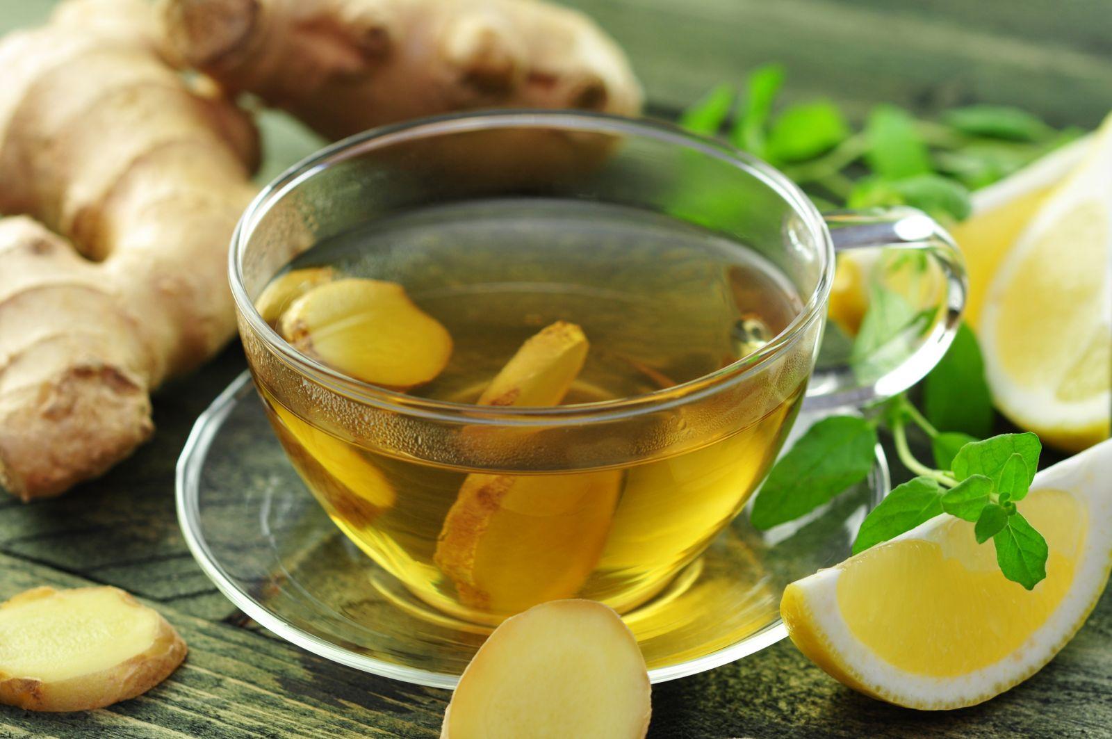 Trà gừng là một loại trà tốt cho hệ tiêu hóa