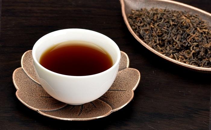 Trà đen - Dễ uống, không chát, ngọt dịu, là một trong những loại trà giảm cân cực hiệu quả